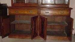 antique-bookcase-English